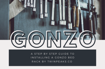 How to install a Gonzo Bed Rack from Twinpeaks